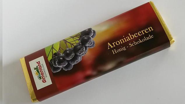 Aroniabeeren Honig-Schokolade
