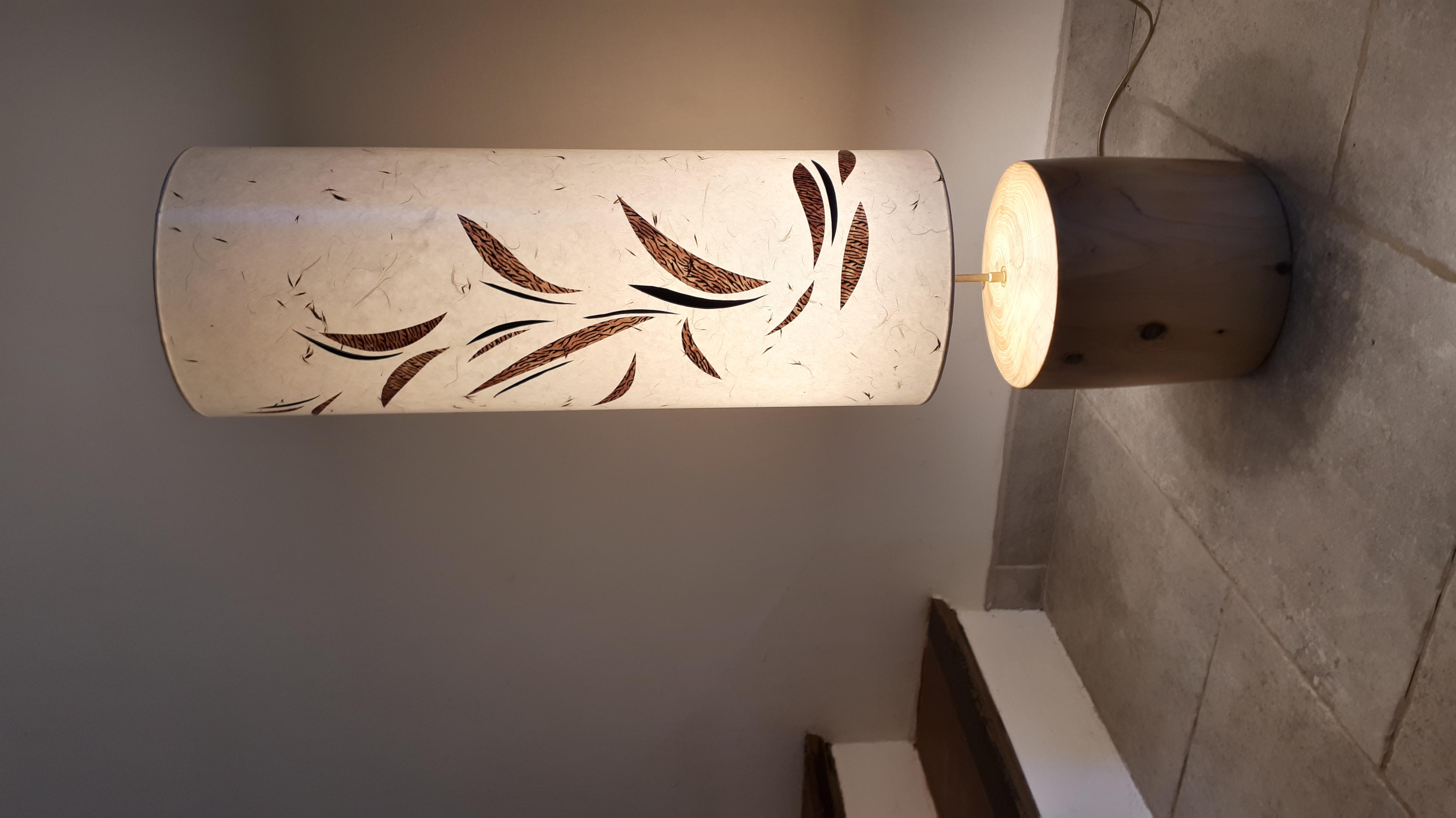Lampe pied cyprés