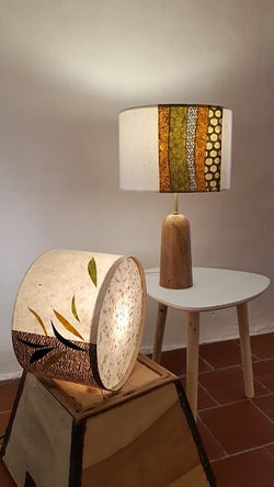 lampes papier Lokta