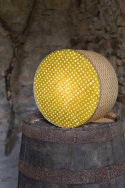 Lampe tambour