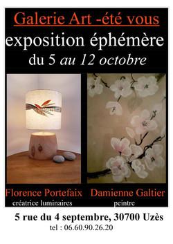 Exposition_galerie_Uzés