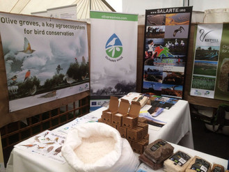 La sal marina virgen gaditana sorprende en la British Birdwatching Fair de Rutland