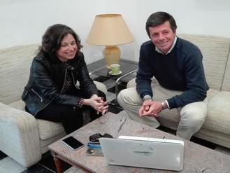 Salarte informa a la Diputación de Cádiz sobre sus actividades en la bahía gaditana.