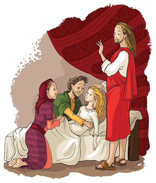 Jesus & Jairus Image