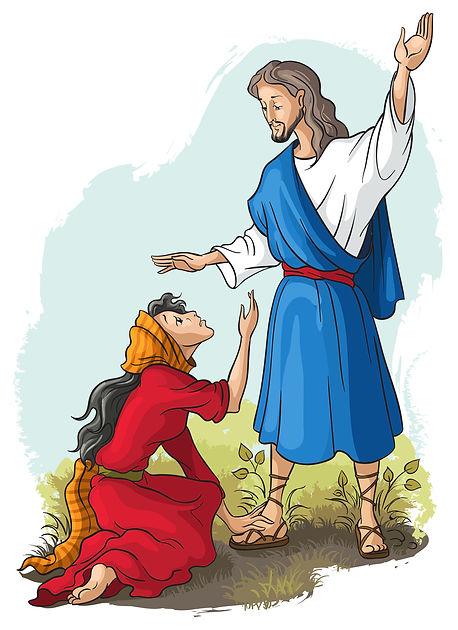 Jesus & M.M. Image