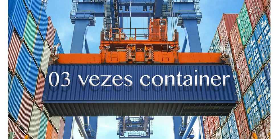 Três vezes container