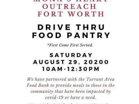 Drive By Food Pantry