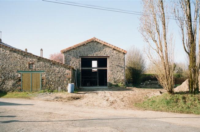 réhabilitation d'une grange, La Bignonnière, 79