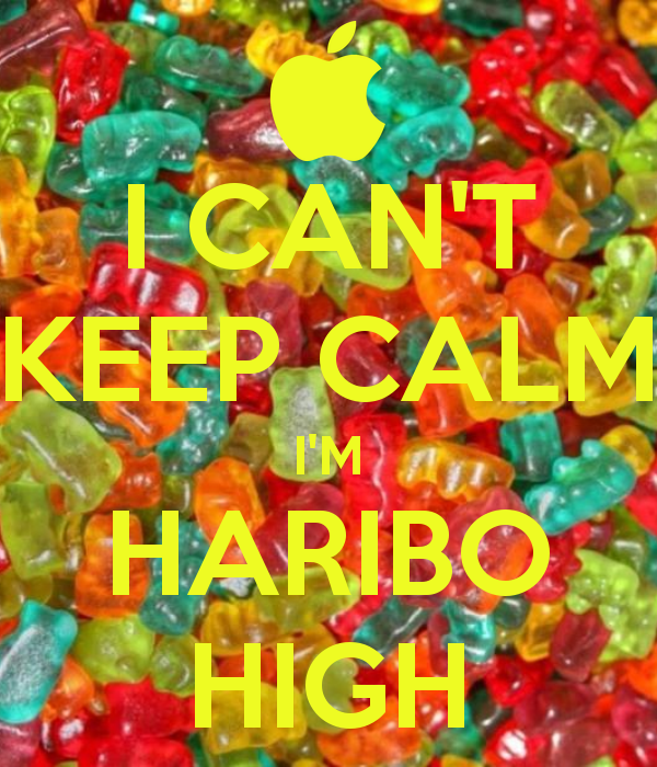 fit fat fit and don't mention haribo