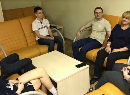 """Занятие по """"Человековедению"""" в Университетской гимназии МГУ"""