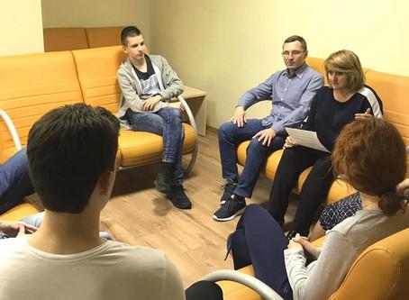 """Занятие по предмету """"Человековедение"""" в гимназии МГУ"""