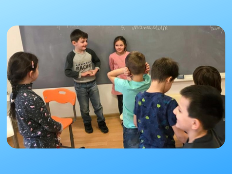 """Занятие по программе """"Человековедение"""" в частной школе """"Смарт Скул"""", г. Мытищи"""