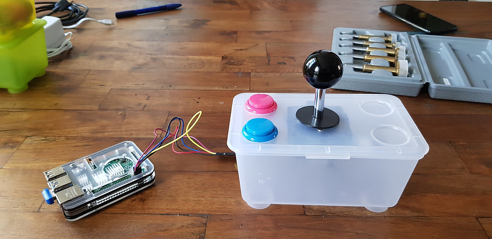 Raspberry Pi Game Controller
