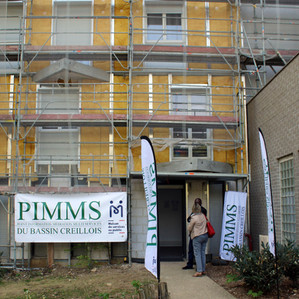 La façade du PIMMS