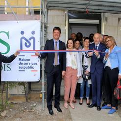 L'inauguration du PIMMS le 28 avril 2018