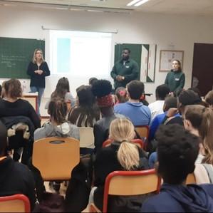 Intervention des médiateurs transports au collège Anatole France le 20/11