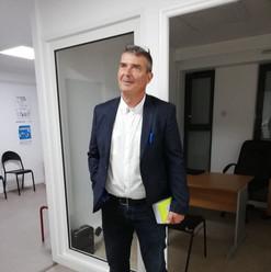 Mise en place d'un compteur Linky au PIMMS le 13 septembre 2018