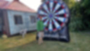 Inflatable Pubs CT : Games - Inflatabl Dartboard