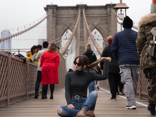 Brooklyn Bridge - Portrait Photography
