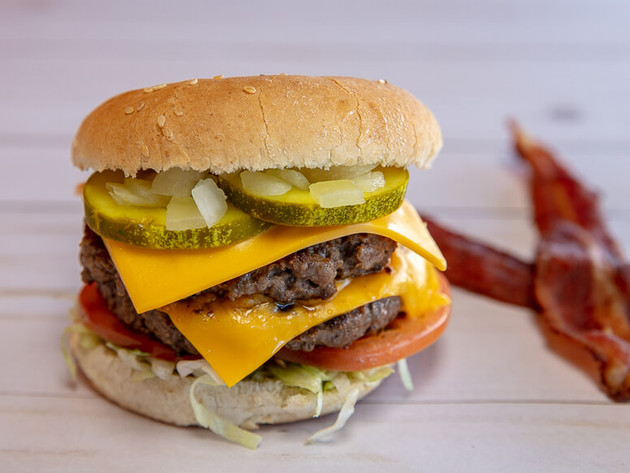 Food Photography - Fresh Burger - Jefferson Fry Co