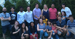 2018 summaer lab dinner