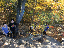 Fall 2016  Blue Hill Hiking trip 1