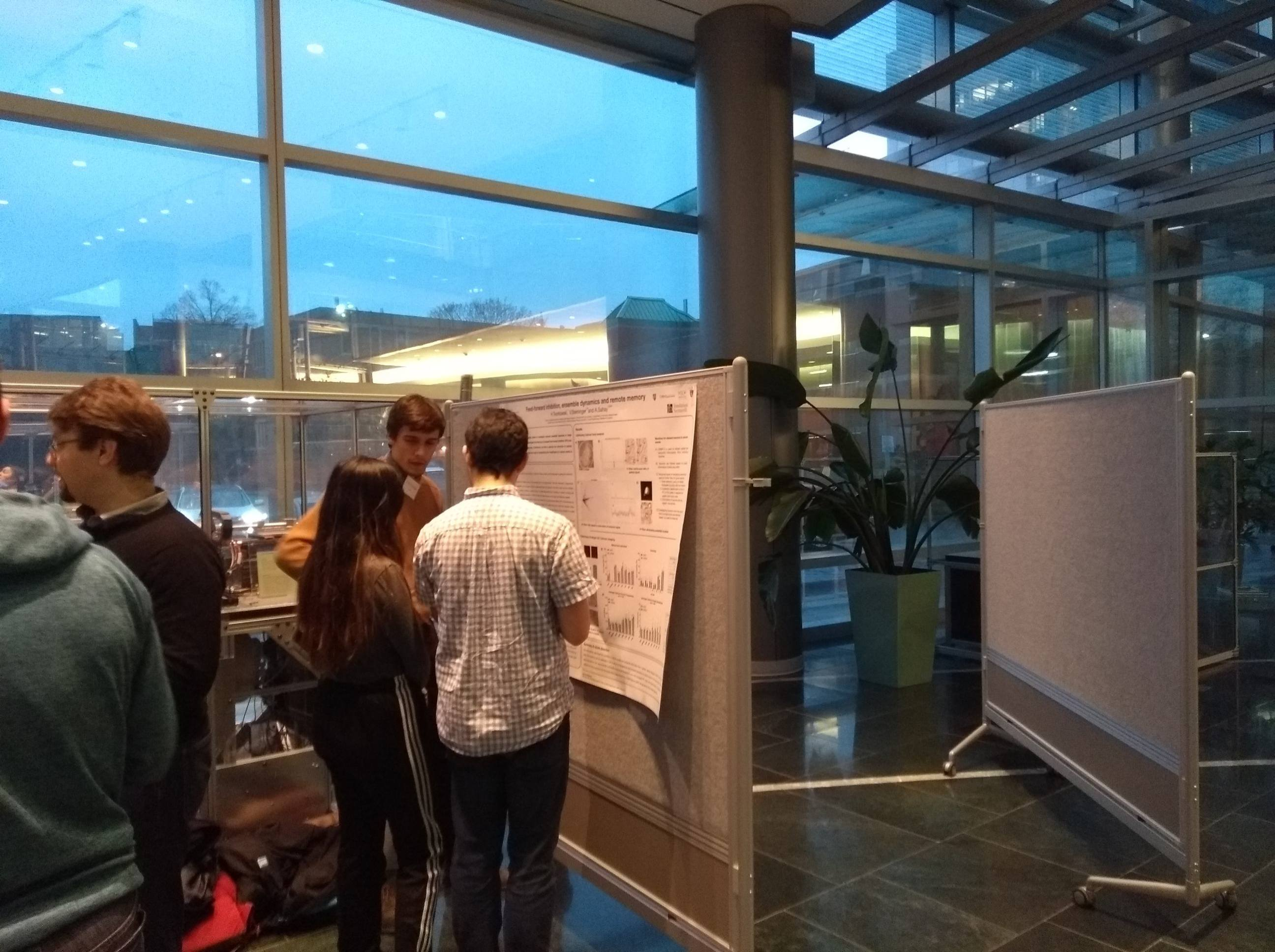 Victor and Hannah HBI Poster session