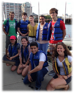 Annual Lab sailing trip 2013.png