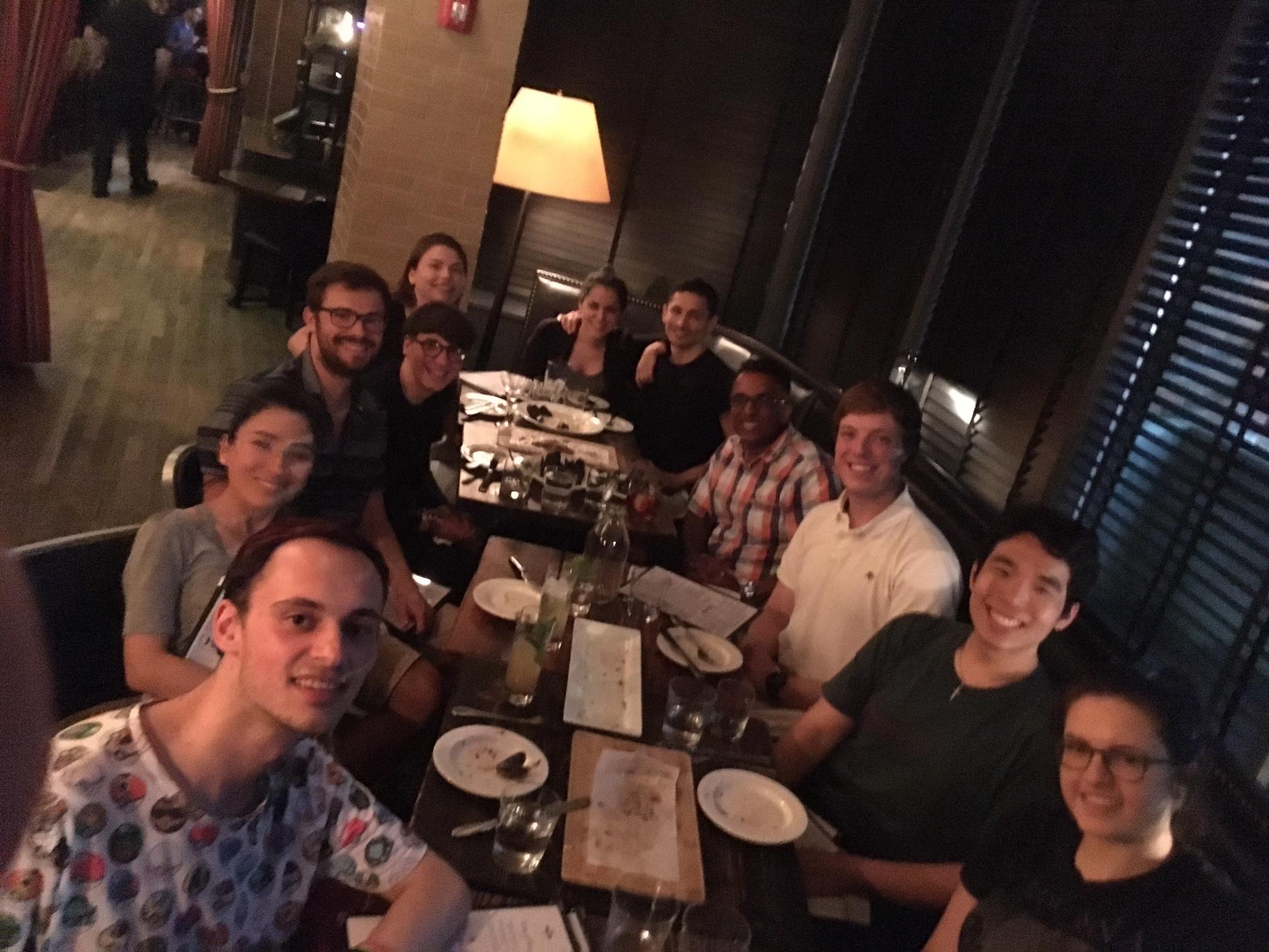 Lab Summer 2017 dinner @ The Park