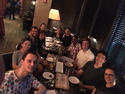 Lab Summer 2017 dinner @ The Park