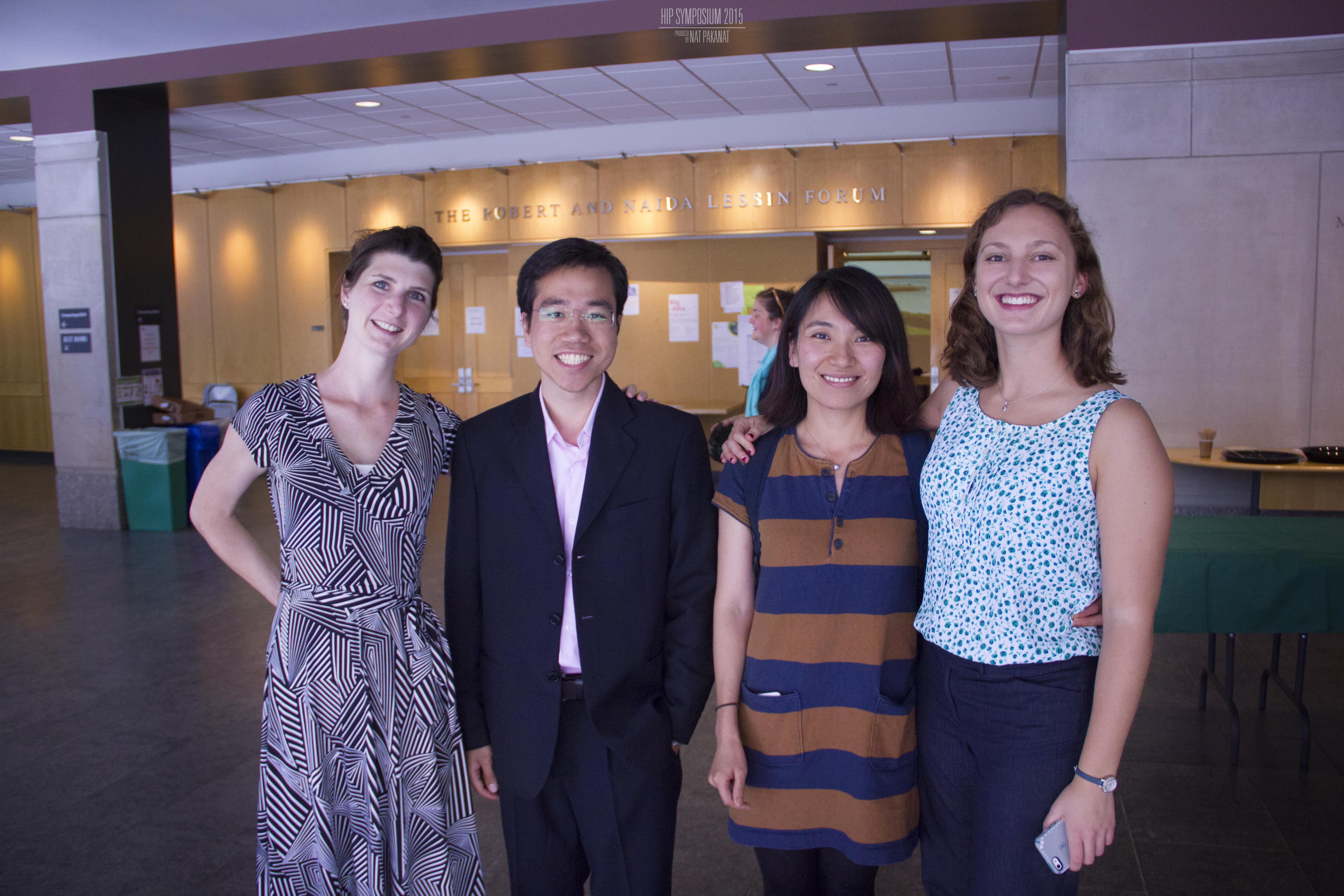 Kate&Nannan with their mentees@HSCI