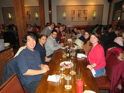 Tara's celebration dinner CBC!