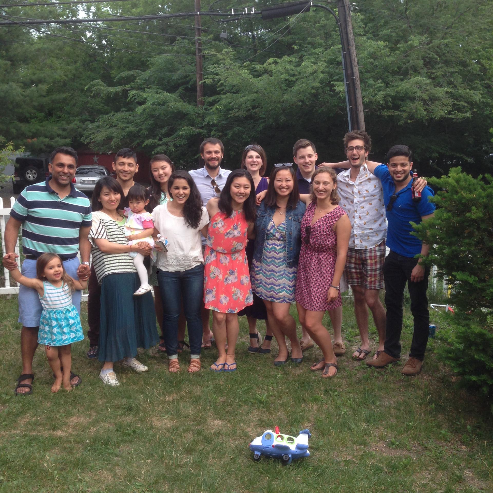 Sahay lab Summer 2015 party.JPG