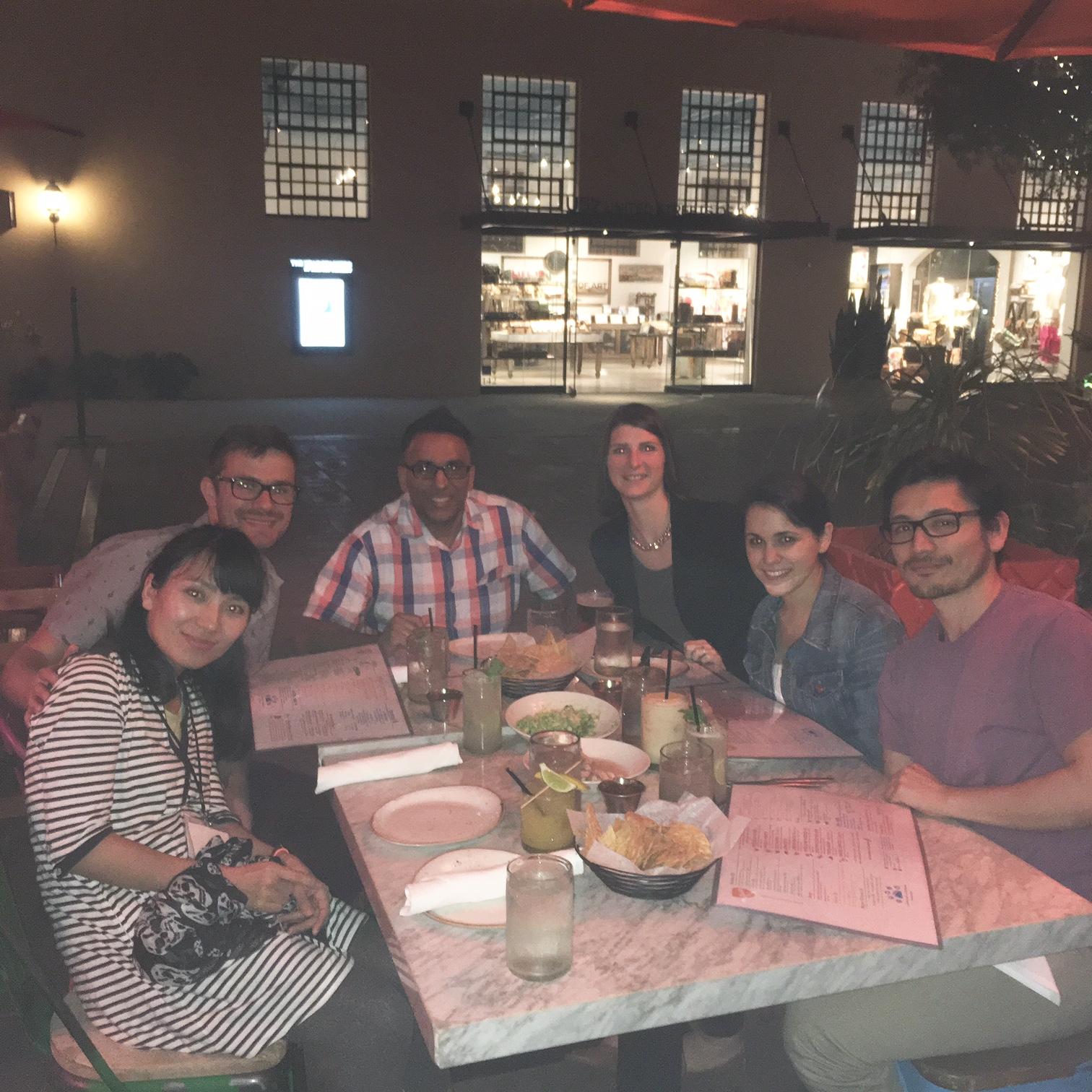 SFn 16 FullLab dinner at Puesto