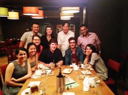 Summer 2014 Lab dinner