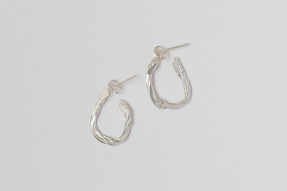 Twisted Vine Earrings (Small)