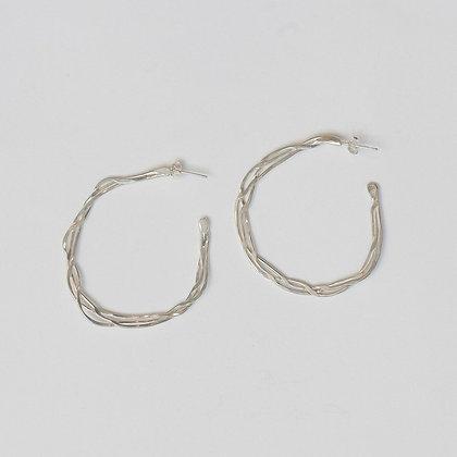 Twisted Vine Earrings (large)