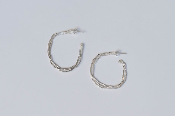 Twisted Vine Earrings (Medium)