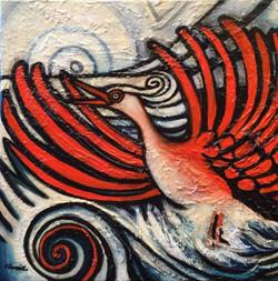 La vague orange