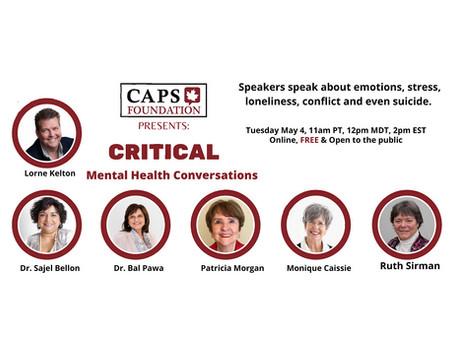 Critical Mental Health Conversations