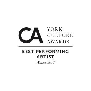 York Culture Award for Best Performing Artist, November 2017