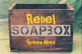 Featured artist at Rebel Soapbox, December 2019