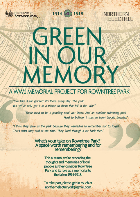 Green In Our Memory, November 2018