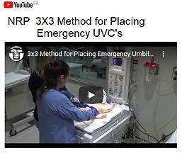 NRP 2  3X3 Method for Placing Emerg UVC.