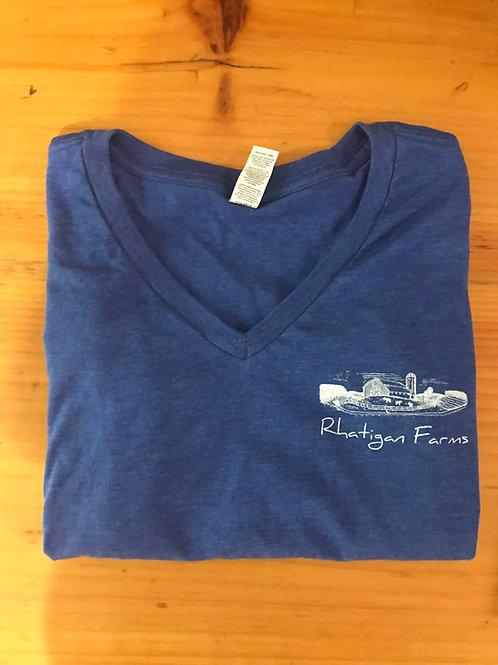 Rhatigan Farms V-Neck T-Shirt