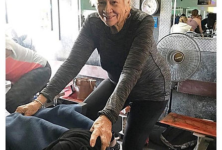 Spinning at age 78