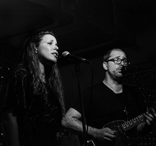 Felicity & Martin at one of our shows at