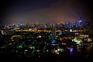 Bangkok skyline, 2016