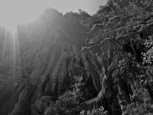 sun kissed cliffs