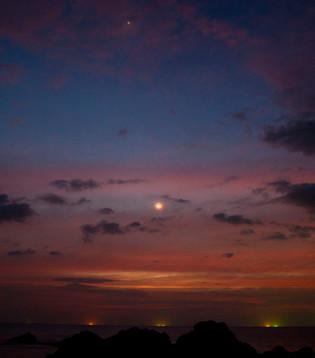 Last light of 2016, Koh Phra Nang, Thailand